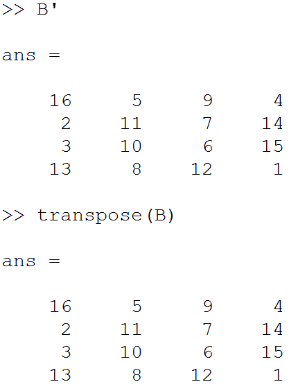 transpose-of-matrix
